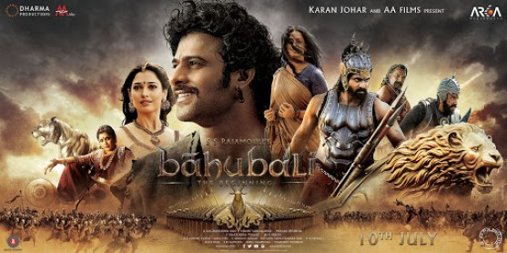 Bahubali indian Movie Poster