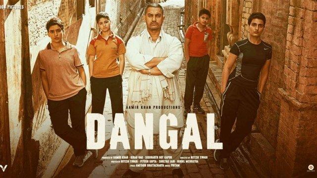 Dangal indian Movie Poster