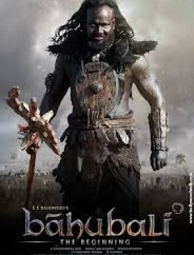 Baahubali The Beginning Indian movie poster