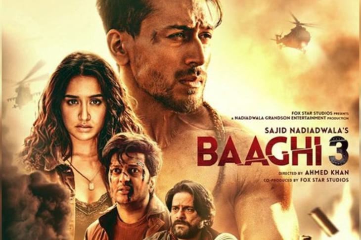 Baaghi 3 indian movie screenshot
