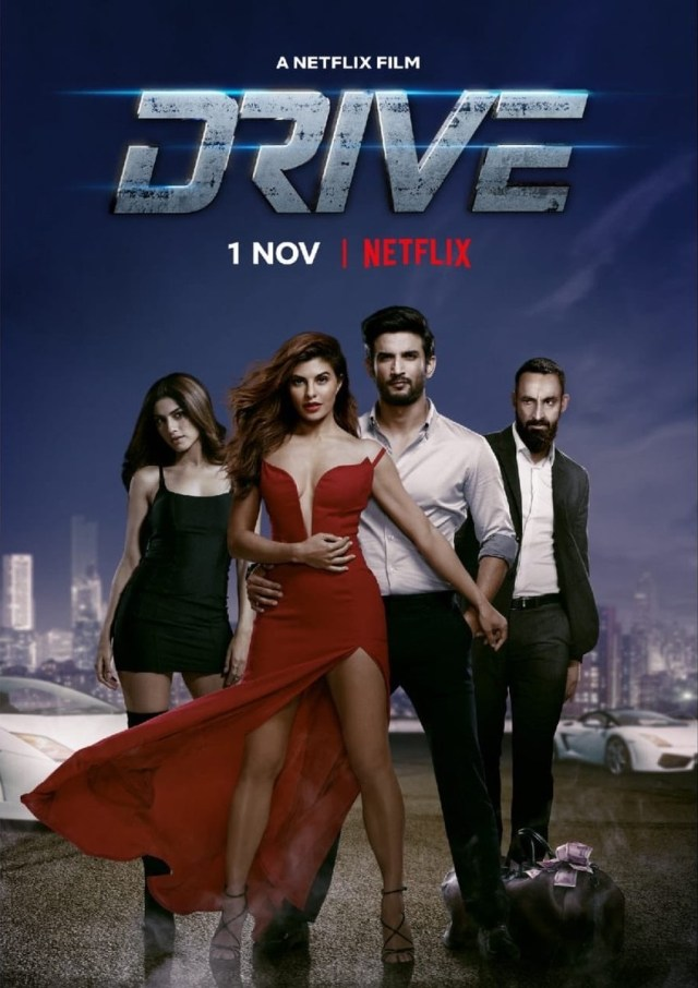 Drive indian Movie Poster