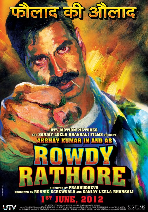 Rowdy Rathore indian Movie Poster