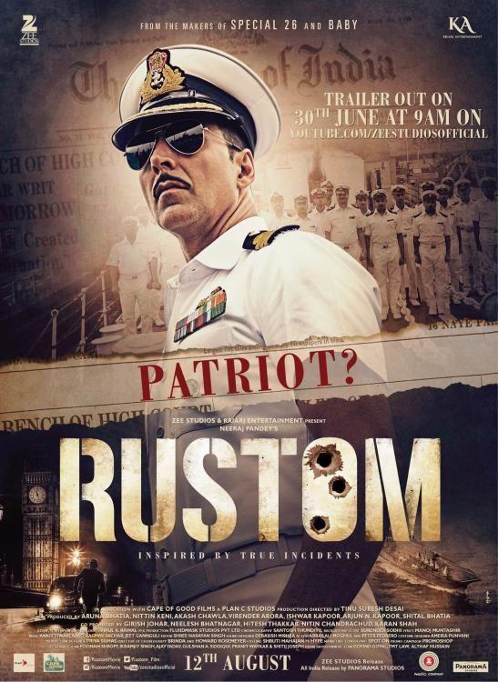Rustom indian Movie Poster