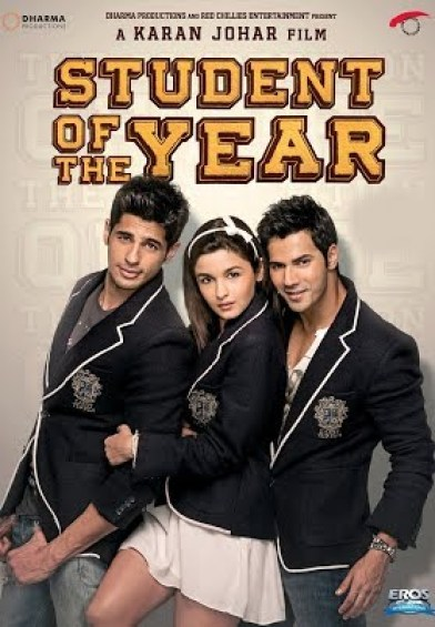Student of the Year indian Movie Poster