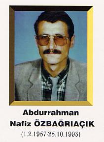 Abdurrahman Nafiz ÖZBAĞRIAÇIK