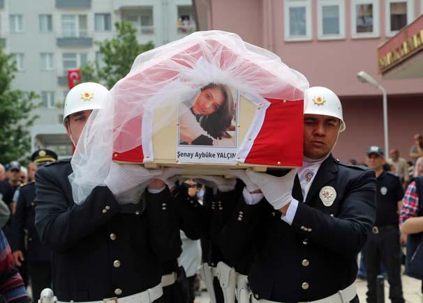 Şehit Öğretmen Aybüke Yalçın Cenaze - 3