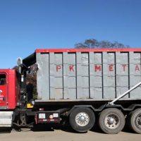 PK Metals truck