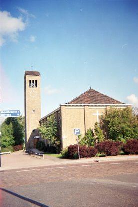 Kruiskerk - Echtenerbrug / Aanzicht vanaf hoofdweg