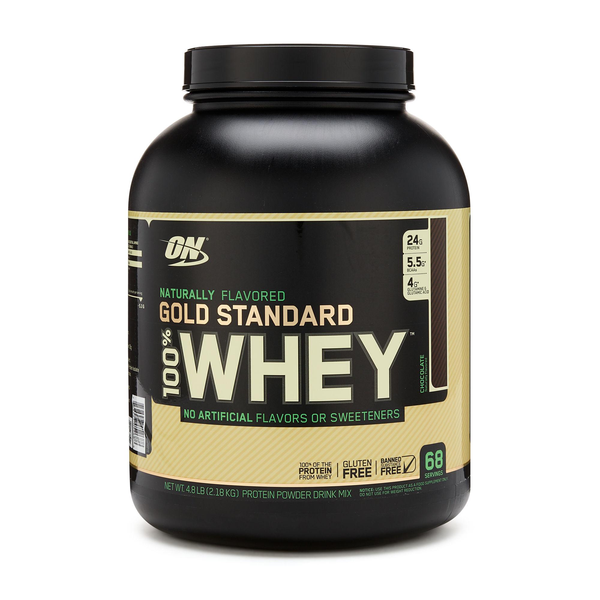 Optimum Nutrition Gold Standard 100% Whey™ Naturally ...