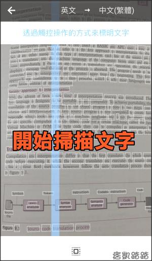 Google圖片翻譯教學3