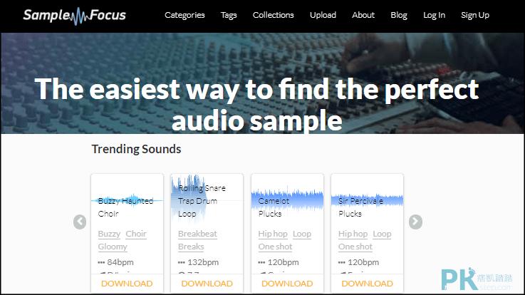 超過10000+特殊音效免費素材網站推薦!爆炸,風雨聲…   痞凱踏踏   PKstep