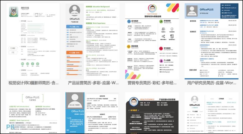 免費線上履歷表產生器-快速套用範本。製作精美的中英文自傳和求職信。 | 痞凱踏踏 | PKstep