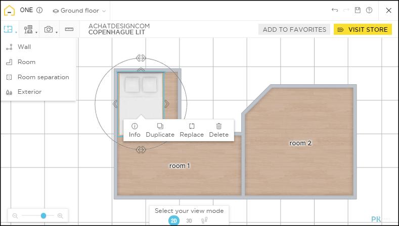 HomeByMe線上室內設計工具-免費畫2D/3D平面圖!打造夢想中的空間和裝潢。 | 痞凱踏踏 | PKstep