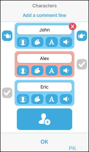 TextingStory製作正在聊天輸入訊息影片的App,虛擬對話影片特效產生器。(Android,iOS)   痞凱踏踏   PKstep