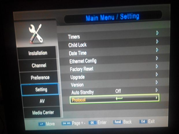 how to add cccam cline in dish receivers