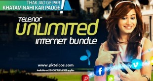 Telenor 4g daily unlimited internet bundle