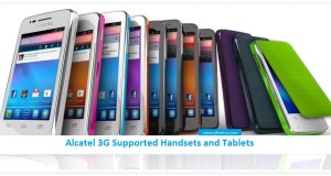 Alcatel 3g supported mobiles