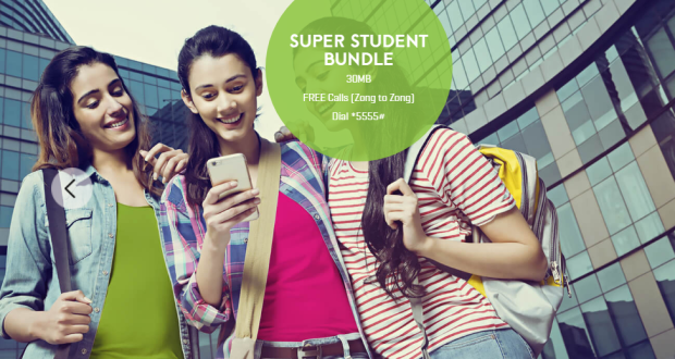 Zong student offer