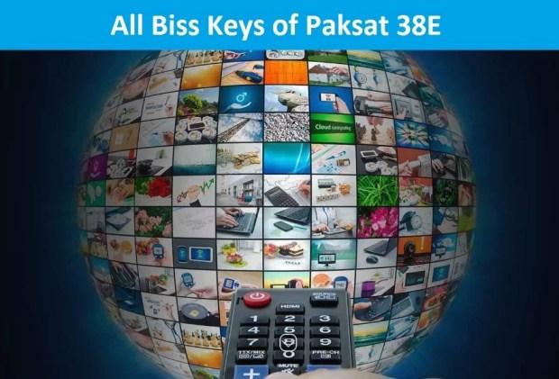 all paksat biss keys update