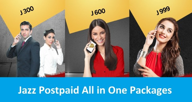 jazz postpaid all in one packages