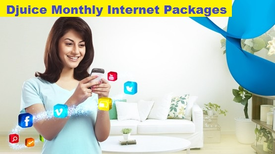 Telenor djuice monthly internet packages