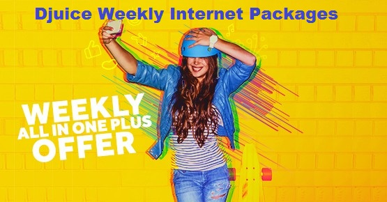 djuice weekly internet packages