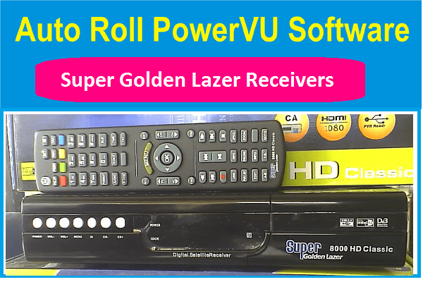super golden lazer new powervu key software
