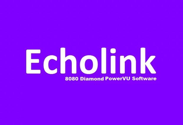 Echolink 8080 Diamond HD Receiver New PowerVU Key Software