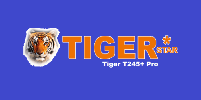 Tiger T245+ Pro HD Receiver New PowerVU Key software