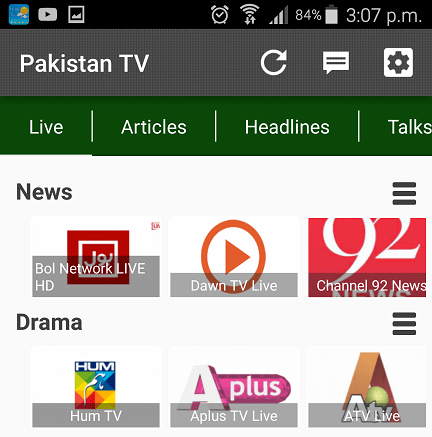 Best Android Apps For Pakistani TV Channels 4