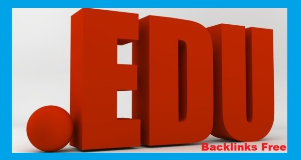 .Edu Backlinks Free List From Top Ranked Edu Sites