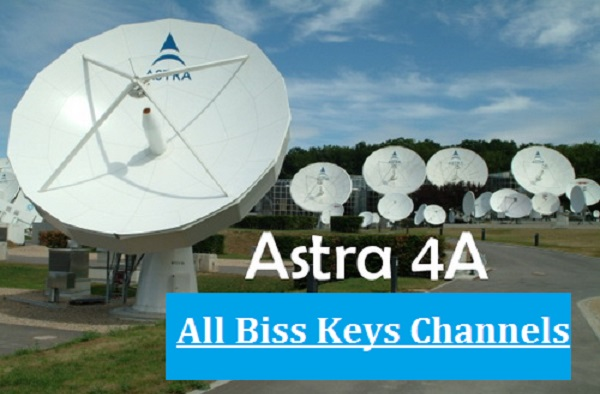 All Biss Keys Channels on Astra 4A @ 4.8°E