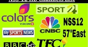 NSS-12 HD Channels List with Frequency @ 57° East