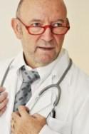 Auch Ärzte tragen eine Sehhilfe