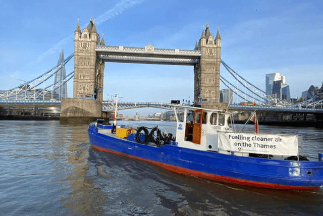 Thames operators' use of greener fuels is accelerating
