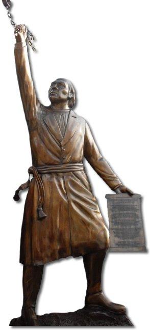 estatuas fundidas