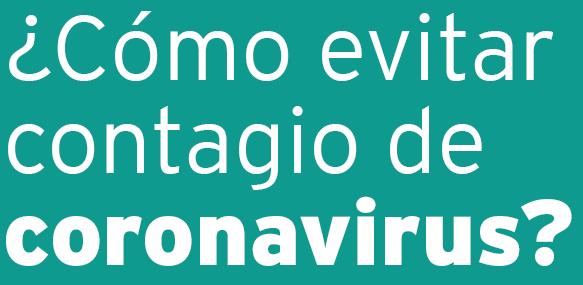 coronavirus como evitar el contagio