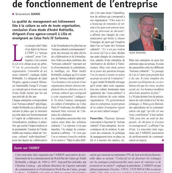 La gazette Nord-Pas de Calais, juillet 2009