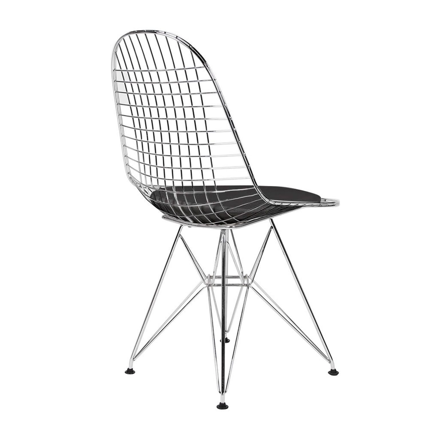 black wire chair universal covers replica eames