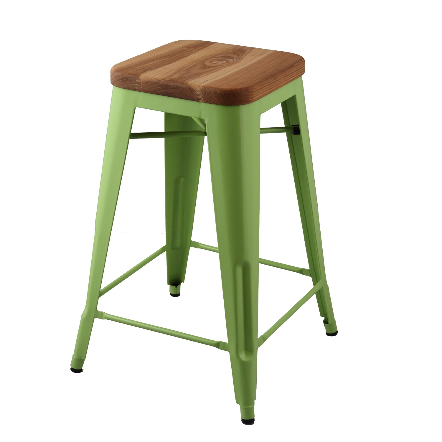 chair stools wooden covers long back replica xavier pauchard seat tolix stool