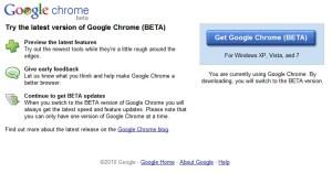 Chrome 6.0 beta