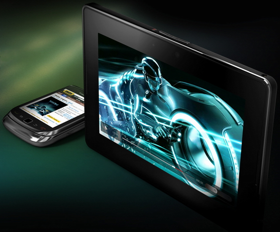 BlackBerry PlayBook, RIM va avoir aussi une tablette tactile