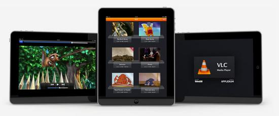 VLC est disponible sur l'Ipad