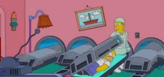 Les Simpsons parodient Avatar