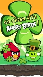 Angry Birds Saint-Patrick : trèfles chaudrons et autres folies