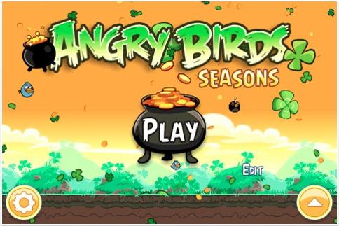 Angry Birds Seasons se met au vert
