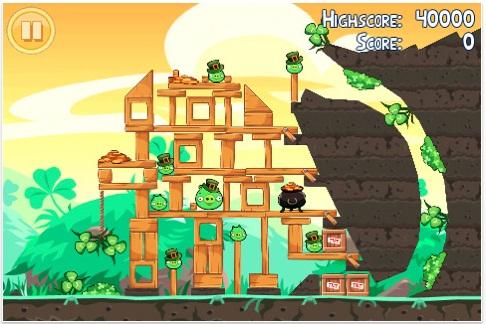 Angry Birds St Patrick