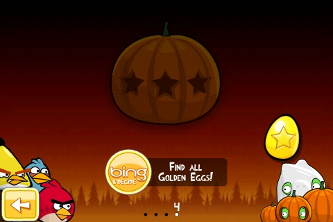 Angry Birds Seasons Halloween Golden egg 2