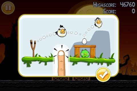 Angry Birds Seasons Halloween Golden Egg 3