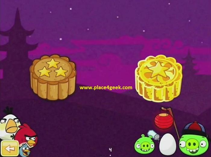 Angry Birds fête de la lune tout débloqué